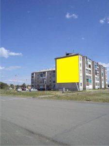 Брандмауэр в г. Еманжелинске, ул. Титова, 10